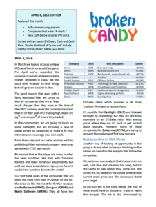 Broken Candy Report April 2016